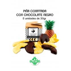 Tablette noire 70% de cacao.