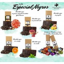 Lote especial chocolate  negro